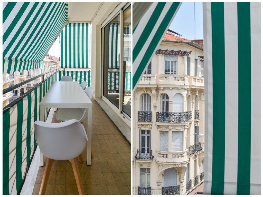 NICE/CARRE D'OR - APPARTEMENT 3 PIECES - TERRASSE - PROCHE MER