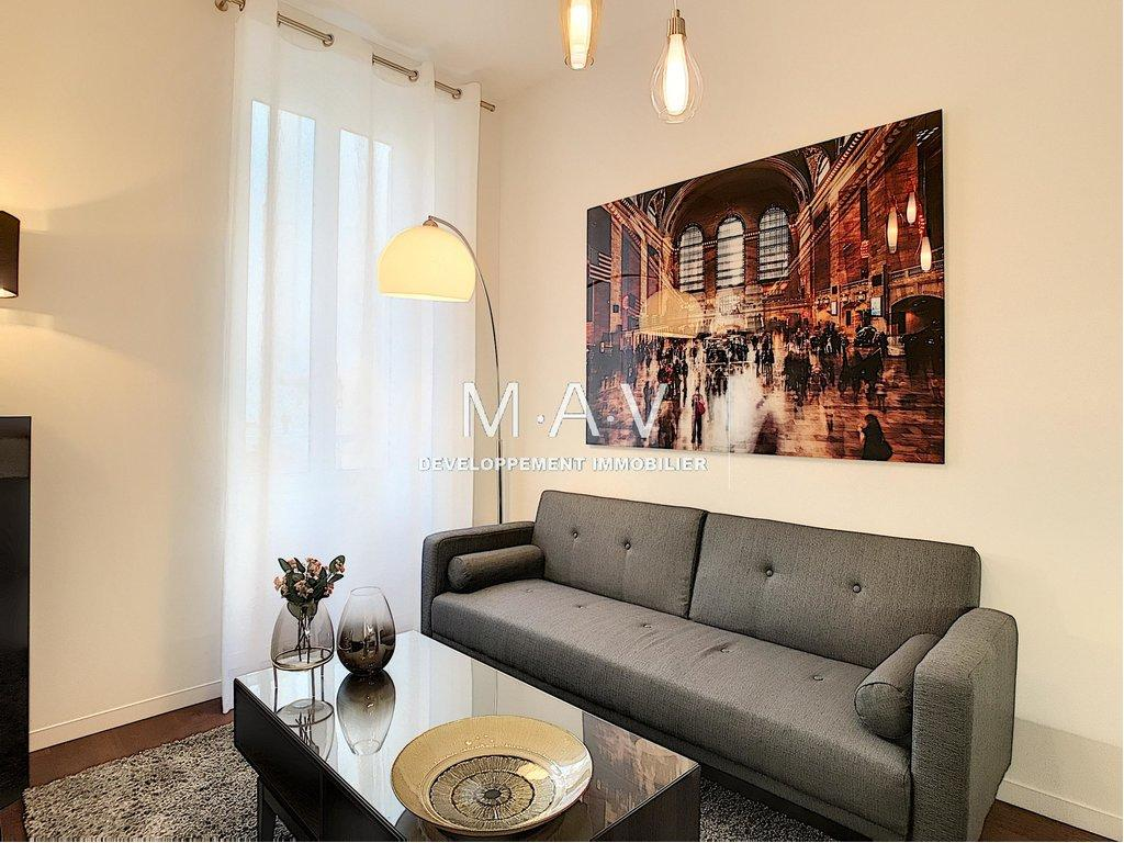 NICE/CARRE D'OR APPARTEMENT 2/3 PIECES LUXUEUSE RENOVATION